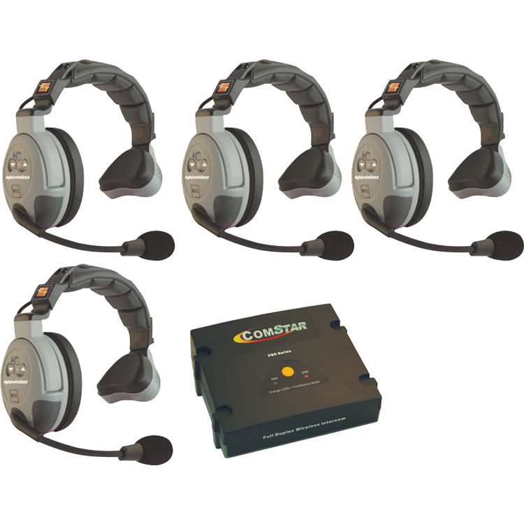 Eartec Comstar Xt 4s 4 User Full Duplex Wireless Intercom