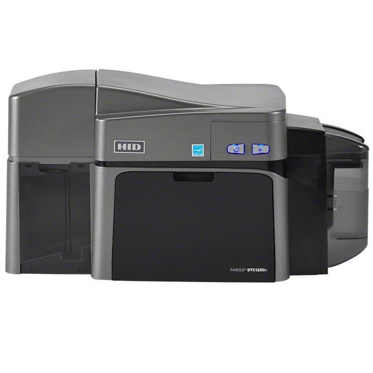 fargo dtc1250e dual sided id card printer - Id Card Printer