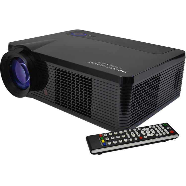 Led Lcd Projector X7 Home Cinema Theater Multimedia Led: Favi Entertainment RIOHD-LED-3T LCD Home Theater RIOHD-LED-3T