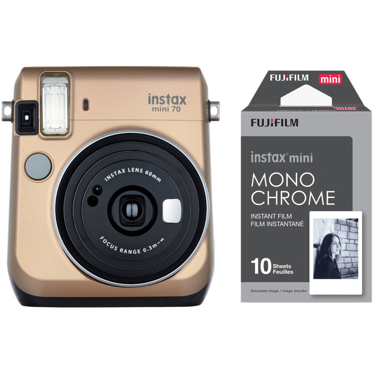 Fujifilm instax mini 70 instant film camera with for Housse instax mini 70