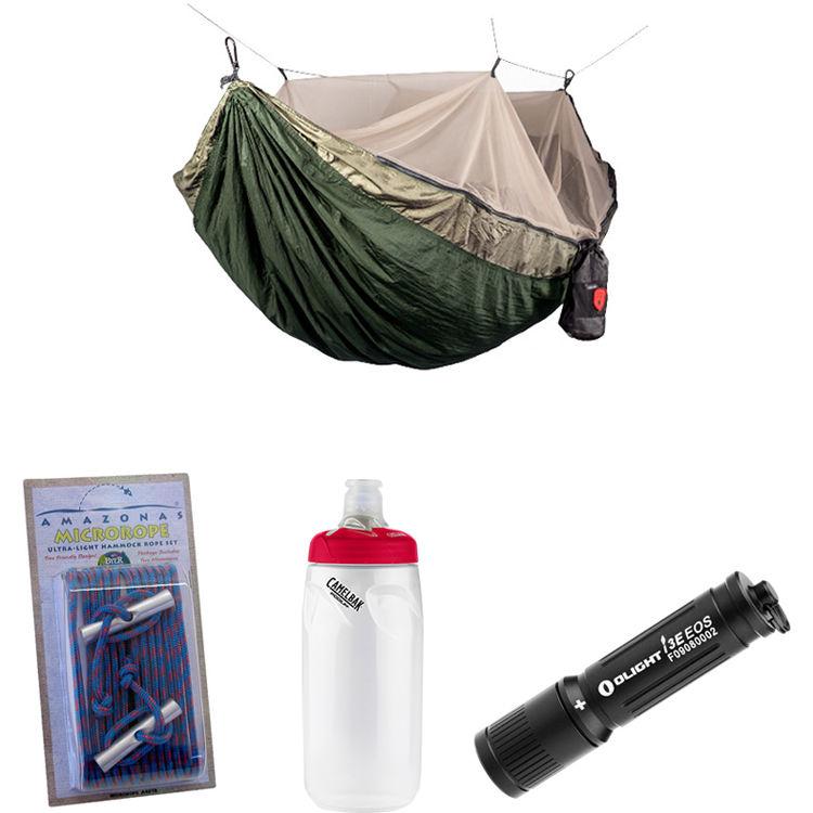 Grand Trunk Skeeter Beeter Pro Hammock Essentials Kit (Khaki/Olive)