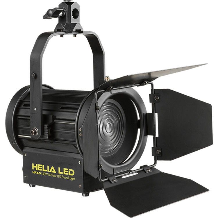 Ikan Helia 40w Bi Color Led Fresnel Light Hf40 B Amp H Photo Video