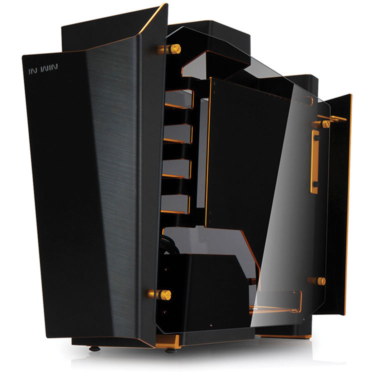In Win S Frame Open Air Chassis Mid Tower Desktop