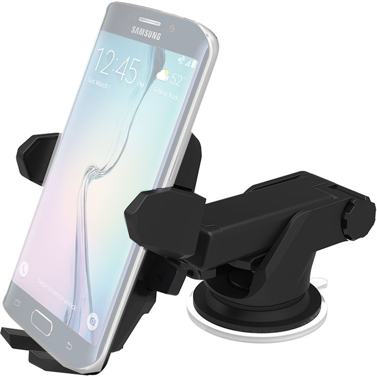 Iottie Easy One Touch Wireless Qi Standard Charging Car And Desk Mount