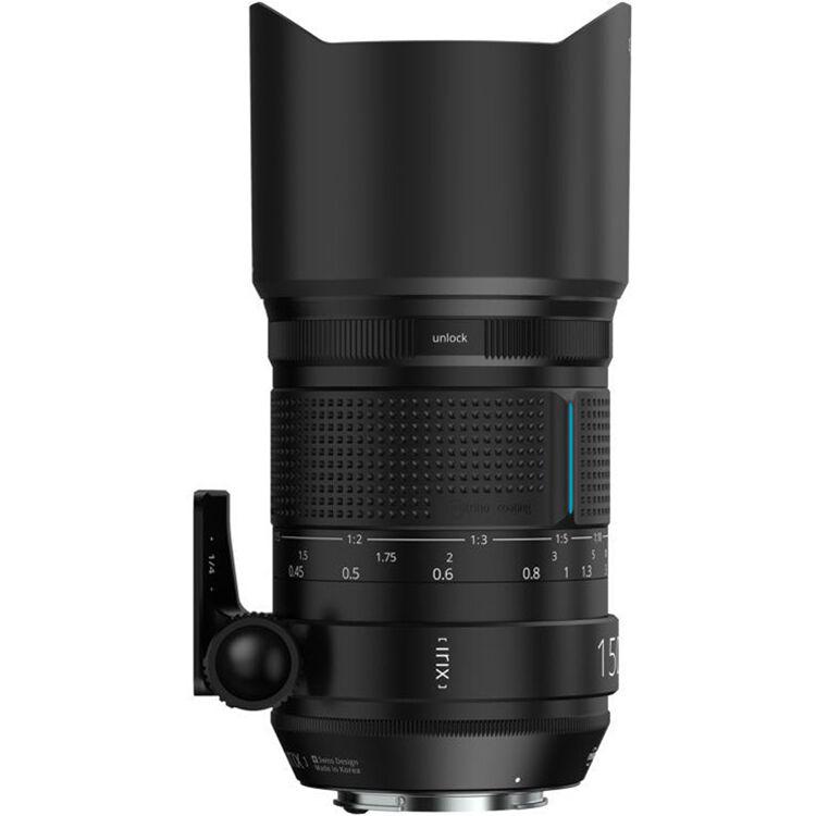 debff05ff3c1 IRIX 150mm f 2.8 Macro 1 1 Lens for Canon EF IL-150DF-EF B H