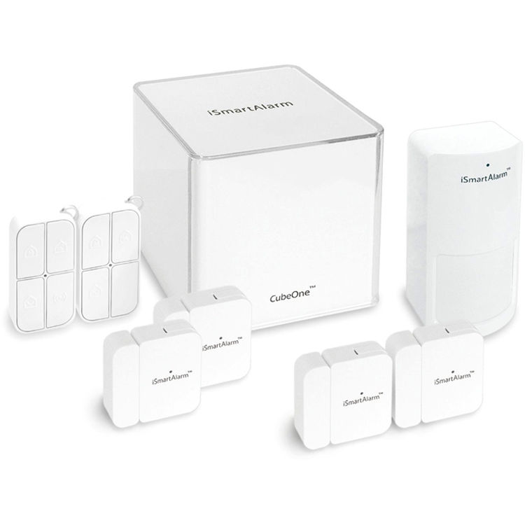 ismartalarm deluxe package home security system isa5 b h photo. Black Bedroom Furniture Sets. Home Design Ideas