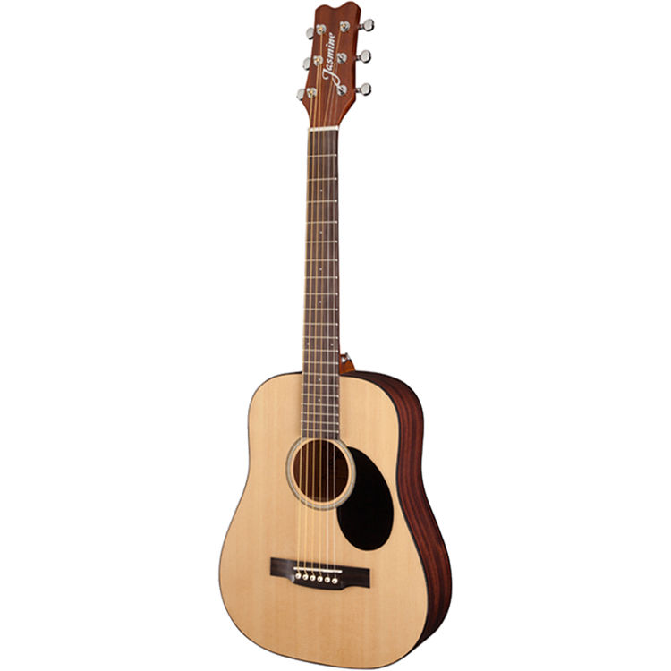 jasmine jm 10 mini dreadnought acoustic guitar natural. Black Bedroom Furniture Sets. Home Design Ideas