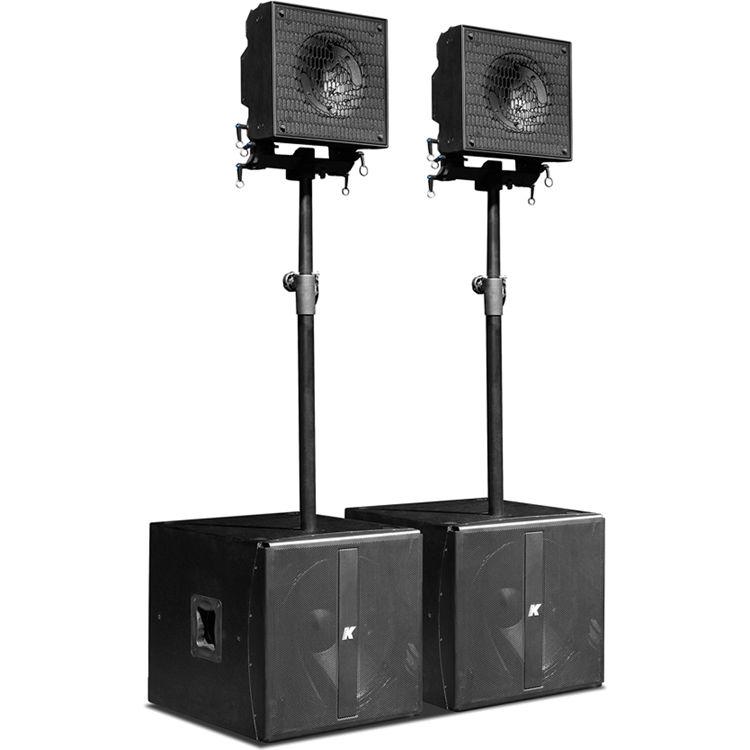 K-Array KRX202 Small-Format, Multi-Use Powered System w ...