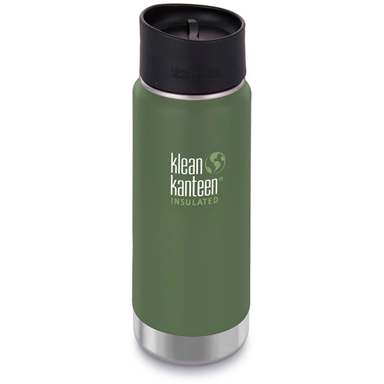 Klean Kanteen Insulated Wide Travel Mug With Cafe Cap