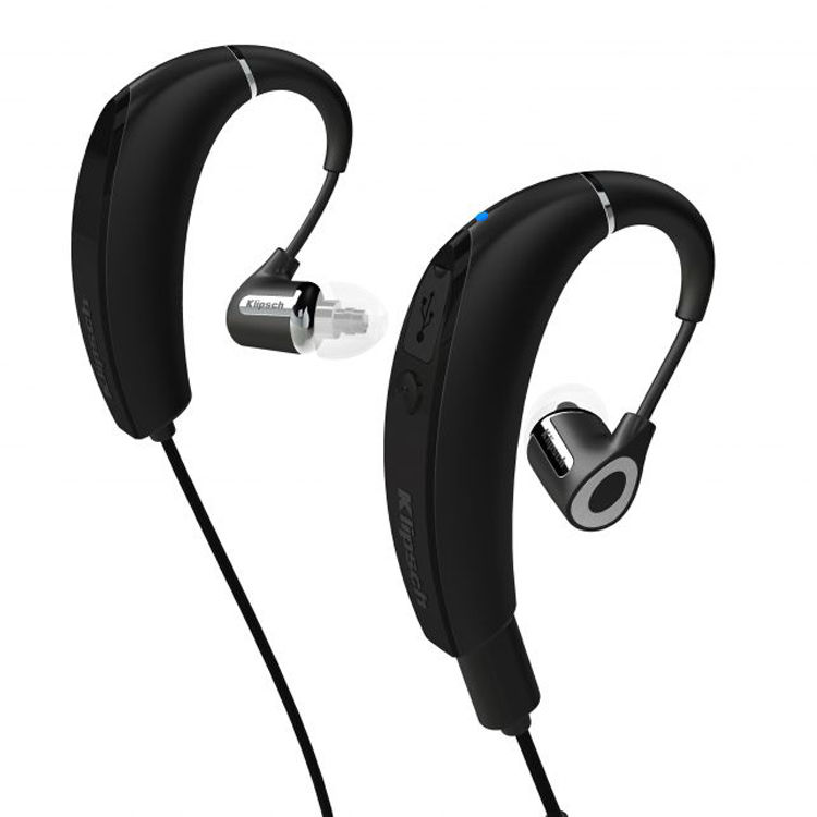 klipsch r6 in ear bluetooth headphones black 1061151 b h photo. Black Bedroom Furniture Sets. Home Design Ideas