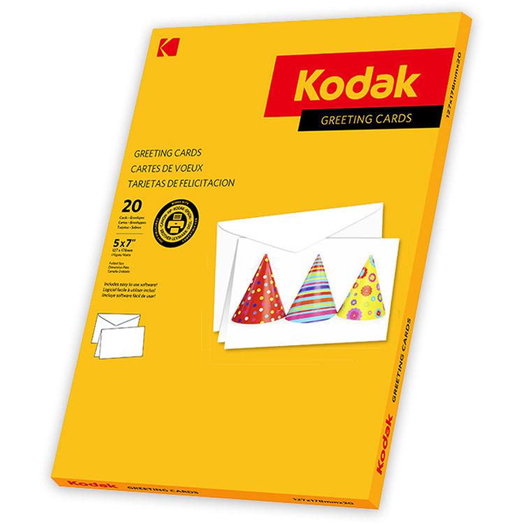 Kodak greeting cards 9891025 bh photo video kodak greeting cards 5 x 7 20 cards envelopes m4hsunfo