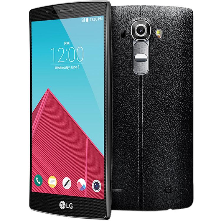 LG G4 US991 32GB Smartphone LG-US991LD-32GB-BLK-LEA B&H Photo