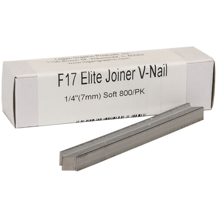 Logan Graphics F17 Elite Joiner V-Nail for Soft Wood F17 B&H