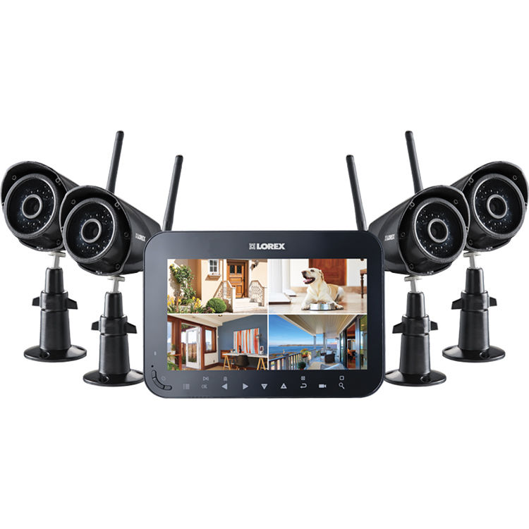 Lorex 4 Vga Day Night Ir Wireless Cameras With 3 6mm