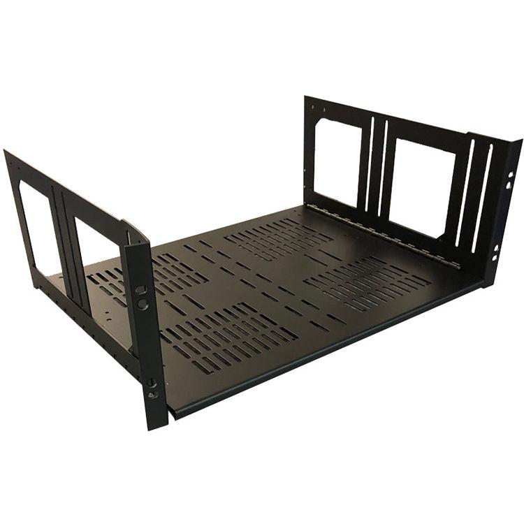 Lowell Manufacturing Rack Kit Hinged Shelf - 4U, 14