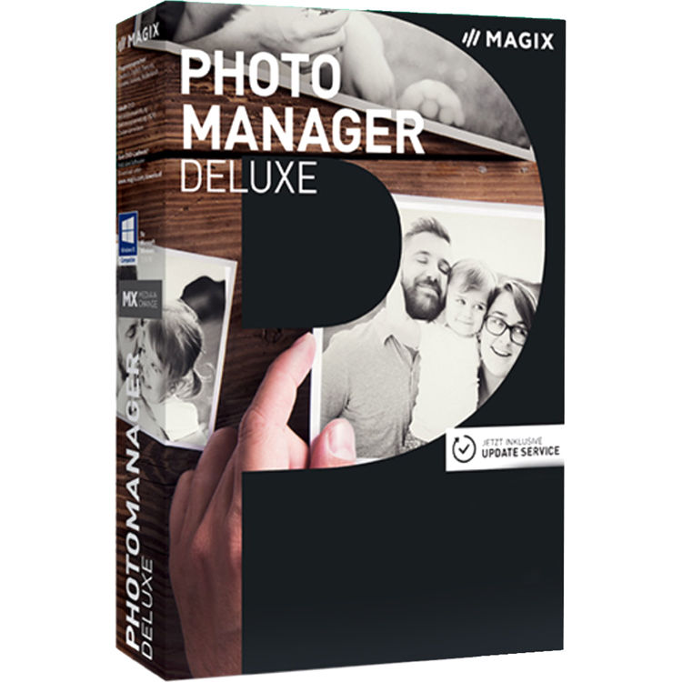 Photo Manager Deluxe (Download, Upgrade)