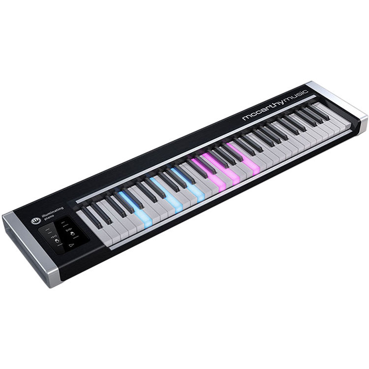 mccarthy music illuminating piano usb midi controller mc000001. Black Bedroom Furniture Sets. Home Design Ideas