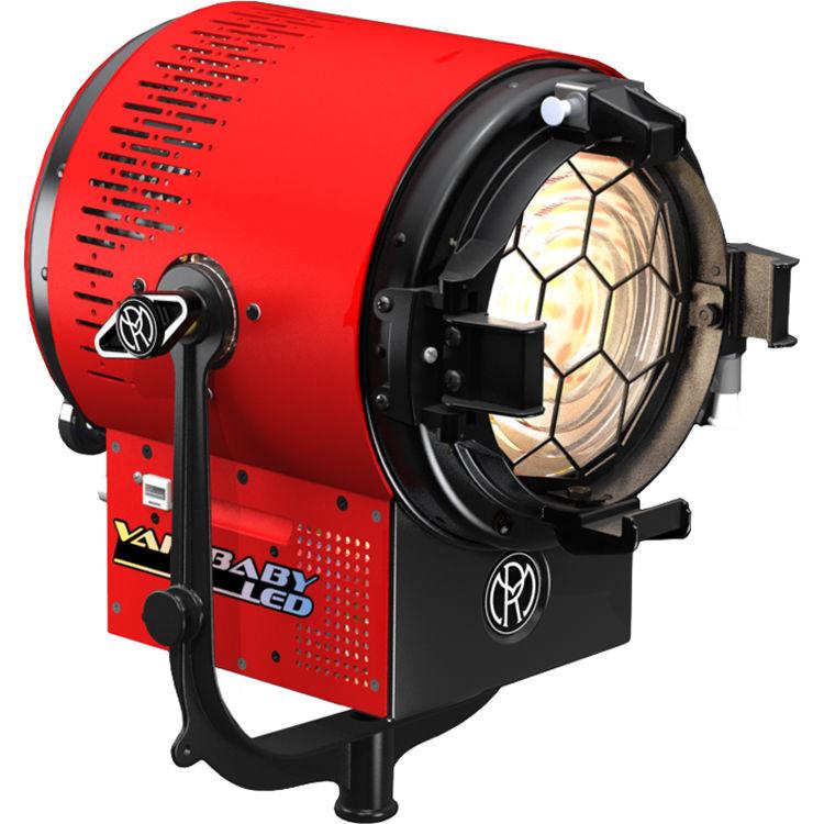 Mole Richardson Zip Light: Mole-Richardson 200W Vari-Baby LED Fresnel 9501 B&H Photo