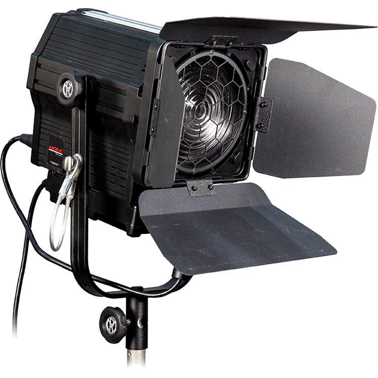 Mole Richardson Zip Light: Mole-Richardson Mole Pro LED Fresnel (Daylight) MP100FDTF B&H