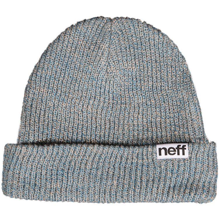 622c5de89fc Neff Fold Heather Beanie (Slate Blue Khaki) NF00008-SLKH B H