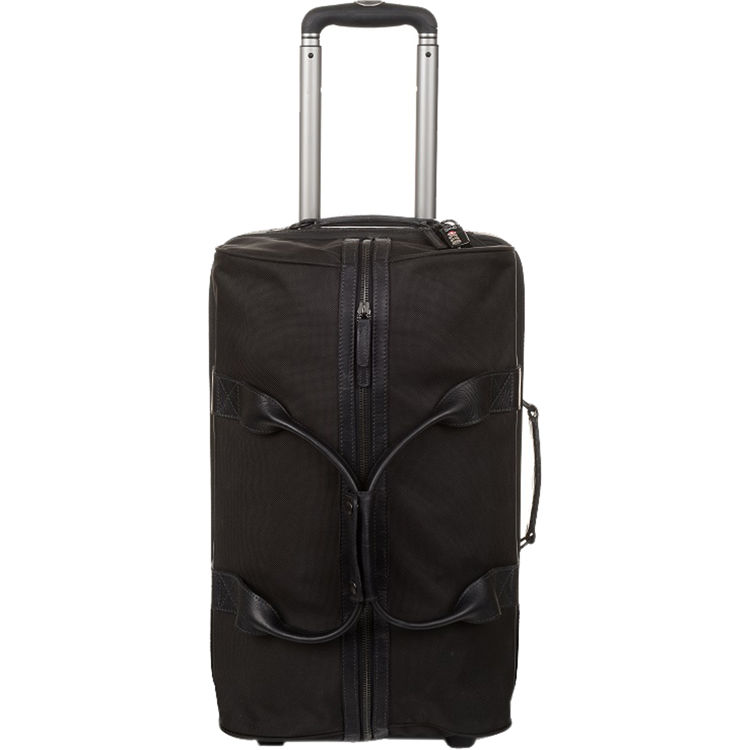 Ona The Hamilton Rolling Camera Bag Duffle Black