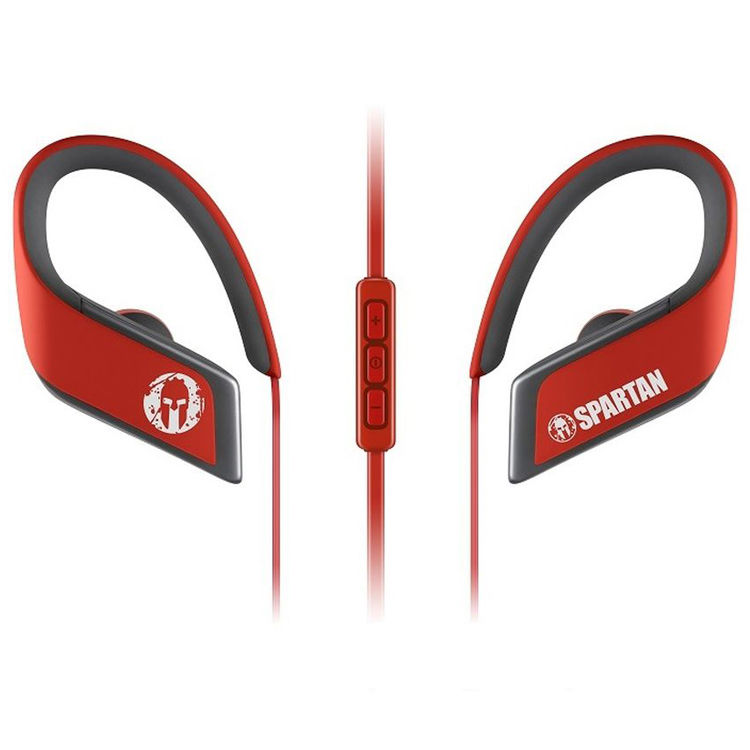 Panasonic RP-BTS30-P1-R WINGS Wireless Bluetooth Sport Clips with Mic    Controller Spartan Limited Edition (Red) 049053a5fb87