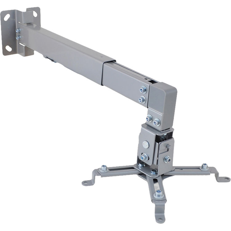 Pyle Pro Universal Projector Wall Mount With Telescoping Length Angle Tilt Adjustment