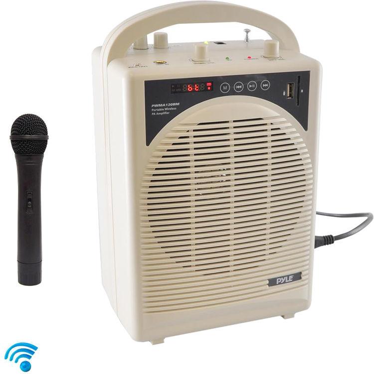 ef7ae3d2ef8 Pyle Pro 60W Portable Bluetooth Karaoke PA Speaker
