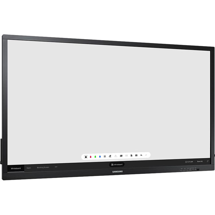 Samsung Commercial Displays >> Samsung Uhd E Board Touch Display 75 Qb75h Tr B H Photo
