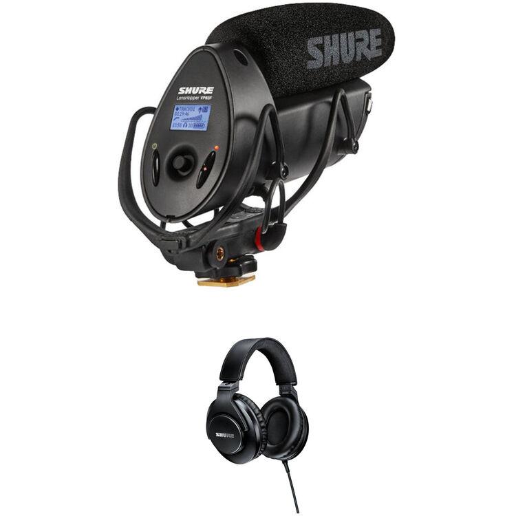 abf7ad5eee9 Shure VP83F LensHopper Shotgun Mic, Flash Recorder & SRH440