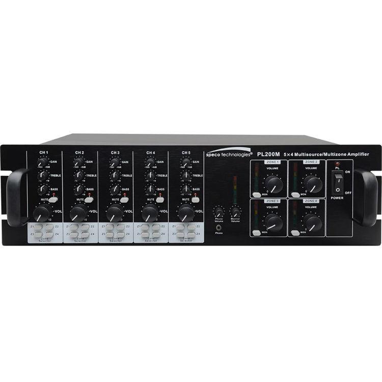 Speco technologies pl200m commercial amplifier 160w pl200m bh speco technologies pl200m commercial amplifier 160w sciox Choice Image