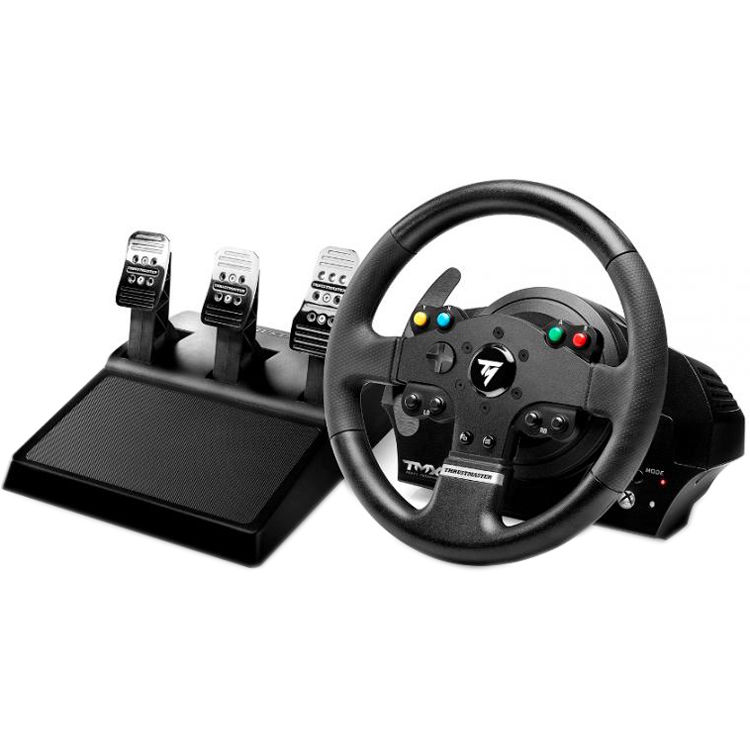 thrustmaster tmx pro force feedback racing wheel 4469023 b h. Black Bedroom Furniture Sets. Home Design Ideas