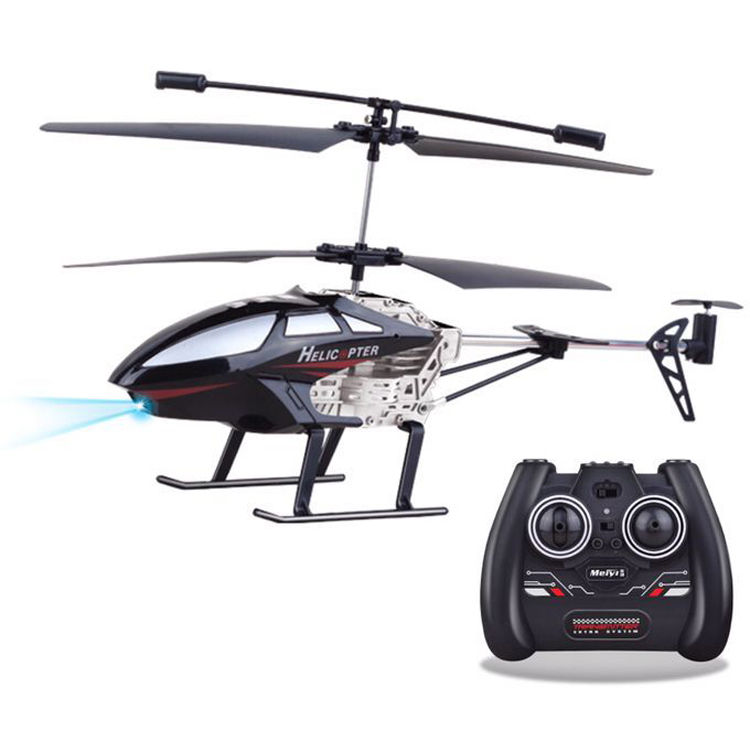 Top Race 3 5 Channel Remote Control Helicopter Black Tr H40 B