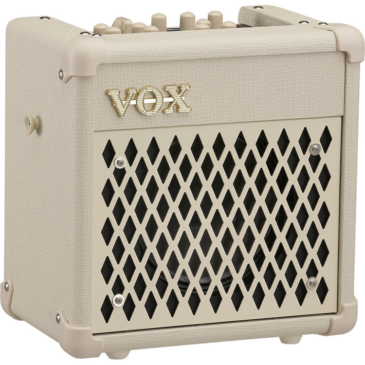 vox mini5 rhythm modeling guitar amplifier white mini5rmdi b h. Black Bedroom Furniture Sets. Home Design Ideas
