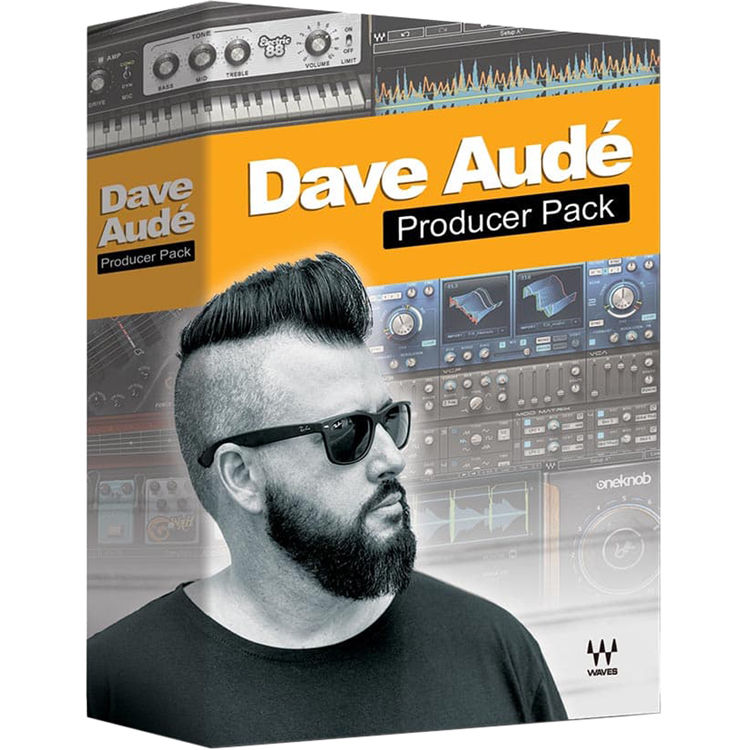 waves dave aude producer pack plug in bundle download daudpp. Black Bedroom Furniture Sets. Home Design Ideas