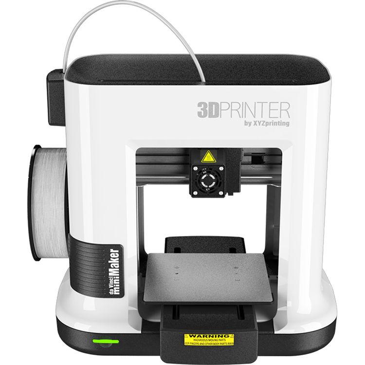 XYZprinting Da Vinci MiniMaker 3D Printer 3FM1XXUST2D B&H