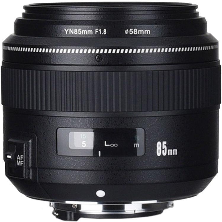 Yongnuo YN50 mm Nikon – Obiettivo per fotocamere DSLR (F/1 ...