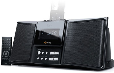iLuv i169 HD Radio & iPod Dock