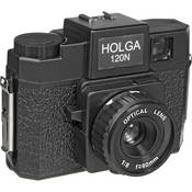 Holga 120N Fixed Focus Camera with Built-in Lens