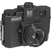 Holga 120CFN Fixed Focus Camera with Built-in Lens and Color Flash :  toy camera light leaks holga wish-list