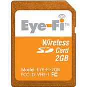 Eye Fi wirelss SD memory card