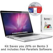 "Apple 17"" MacBook Pro Notebook Computer with Bento 3 and Parallels 6 Software"