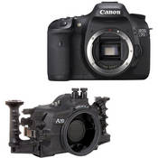 Aquatica Underwater Housing w/ Double Nikonos Bulkheads Kit with Canon EOS 7D Digital Camera