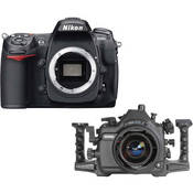 Aquatica Underwater Housing w/ Double Nikonos Bulkheads Kit with Nikon D300s Digital Camera