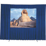 Da-Lite 36631BU Drapery Kit Without Drapery Bar (10 x 13', Blue)