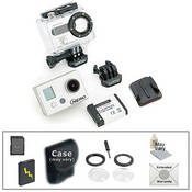 GoPro HD HERO Naked Wearable Camera with Advanced Accessory Kit