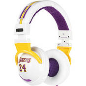 Skullcandy Hesh NBA Lakers Stereo Headphones (Kobe Bryant, White)