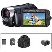 Canon FS40 Flash Memory Camcorder with Basic Accessory Kit