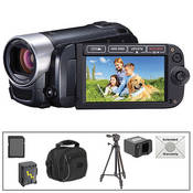 Canon FS40 Flash Memory Camcorder with Advanced Accessory Kit