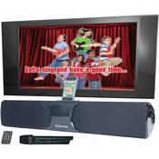 Emerson Karaoke 200w Home Speaker W ipod Dock karaoke